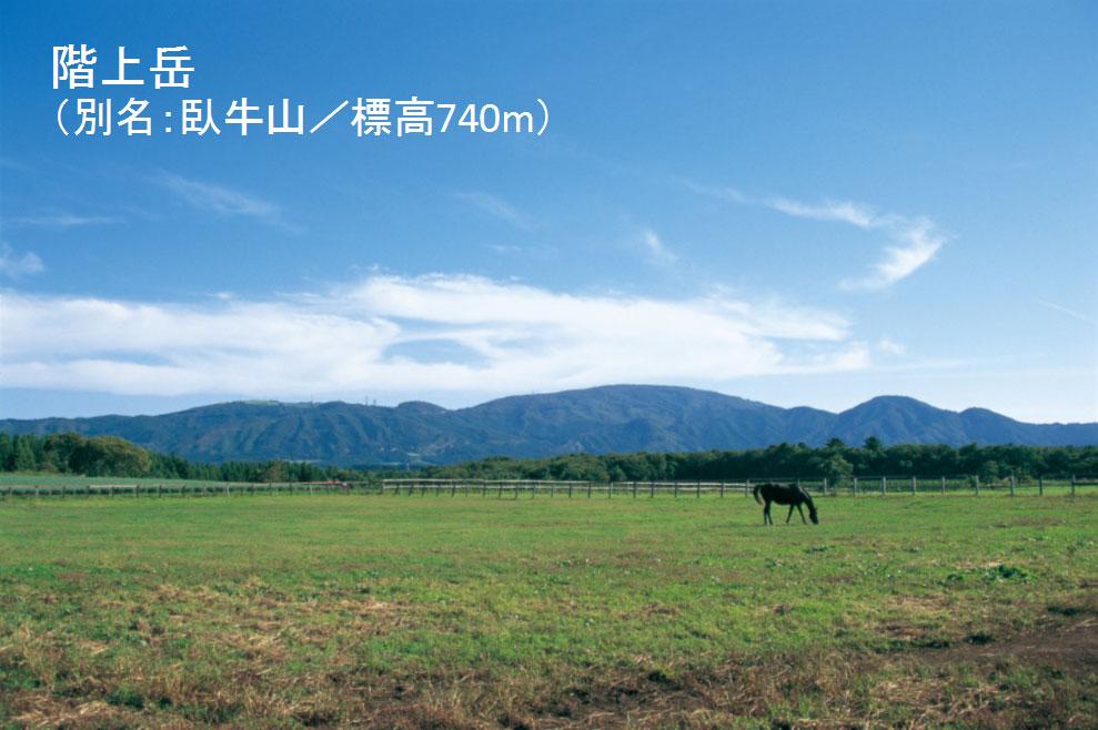 階上岳 (別名:臥牛山/標高740m)