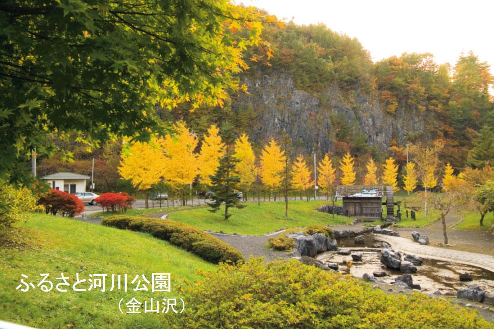 ふるさと河川公園 (金山沢)