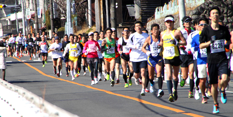 マラソン 青梅