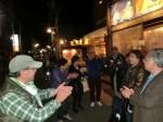 茅ヶ崎駅前の居酒屋で二次会が終わったところ