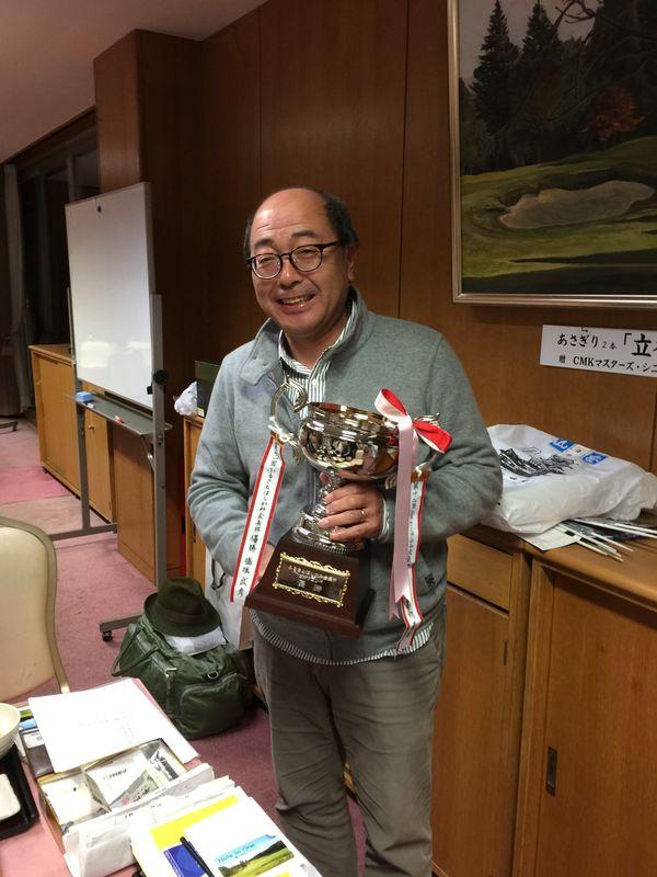 優勝の濱浦さん