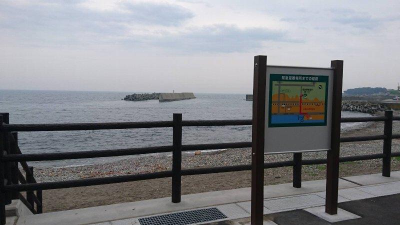 あるでぃーば前の大蛇海岸