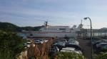 隠岐島行きのフェリー乗場のある七類港に出ます。