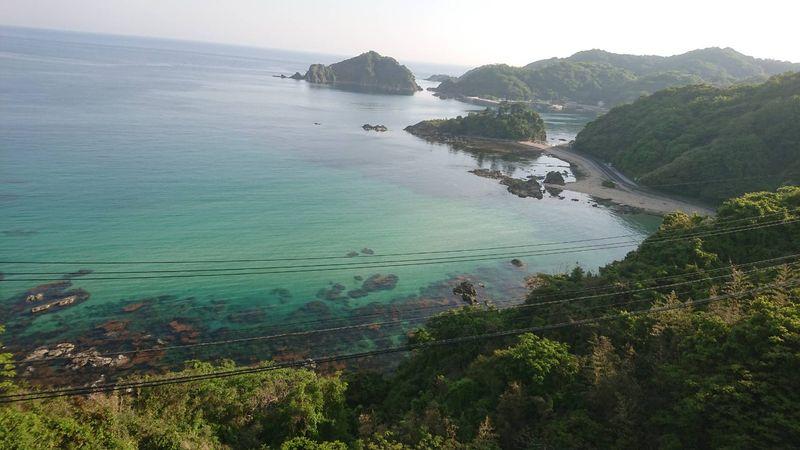 きれいな海の眺め