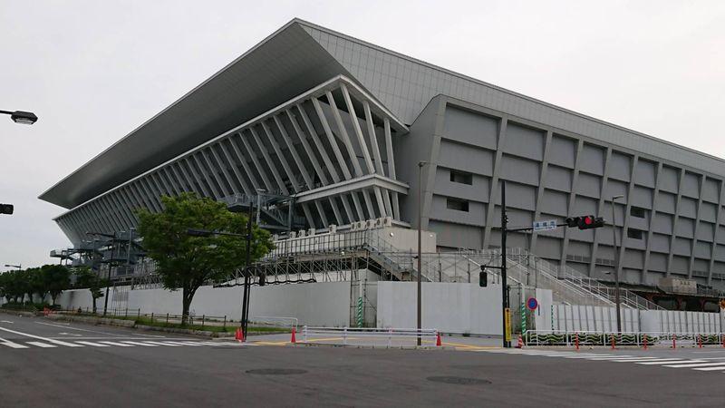 潮見のオリンピック施設です。